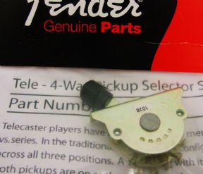 4-Way Fender Tele Mod. Selector Switch  099-2250-000    0992250000